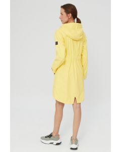 ECOALF PICTON  RAINCOAT WOMAN LIGHT YELLOW
