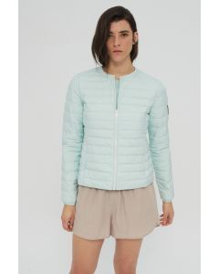 ECOALF USUAHIA DOWN JACKET WOMAN MINT