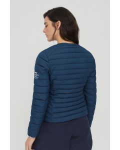 ECOALF USUAHIA REVERSIBLE JACKET WOMAN NAVY